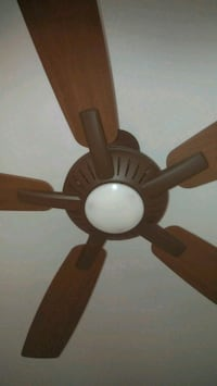 Fan on the ceiling and control unit New York