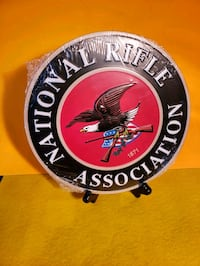 Metal sign NRA EAGLE size 10x10 new