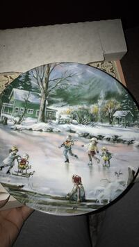 Seems like yesterday. Knowles China plate. Omaha, 68108