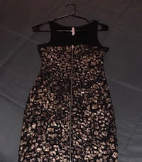 Event Black and Gold Shaped Dress Los Angeles, 91406