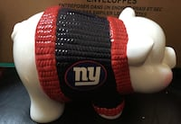 Ny giants piggy bank - nfl licensed - 2003 limited edition Brookhaven, 11953