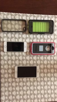 iphone 5 (with 3 cases) and iphone 6 Charlotte, 28273
