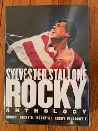 Brand New/Never Opened Rocky Anthology DVDs - Rocky I, II, III, IV, V Alexandria, 22304