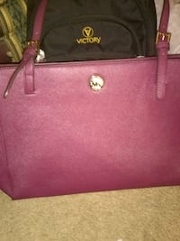 pink leather Michael Kors tote bag Cookeville
