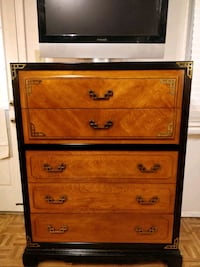 Like new wooden big (BASSETT) chest dresser with g Annandale, 22003