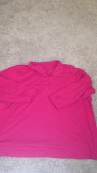 Pink Plus Size Long Sleeve Tee Hagerstown, 21740