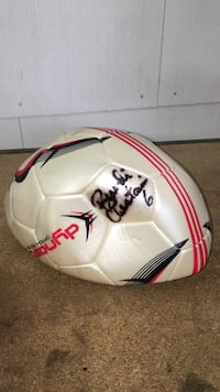 Brandi Chastaine woman's autograph soccer ball  Berkeley, 08721