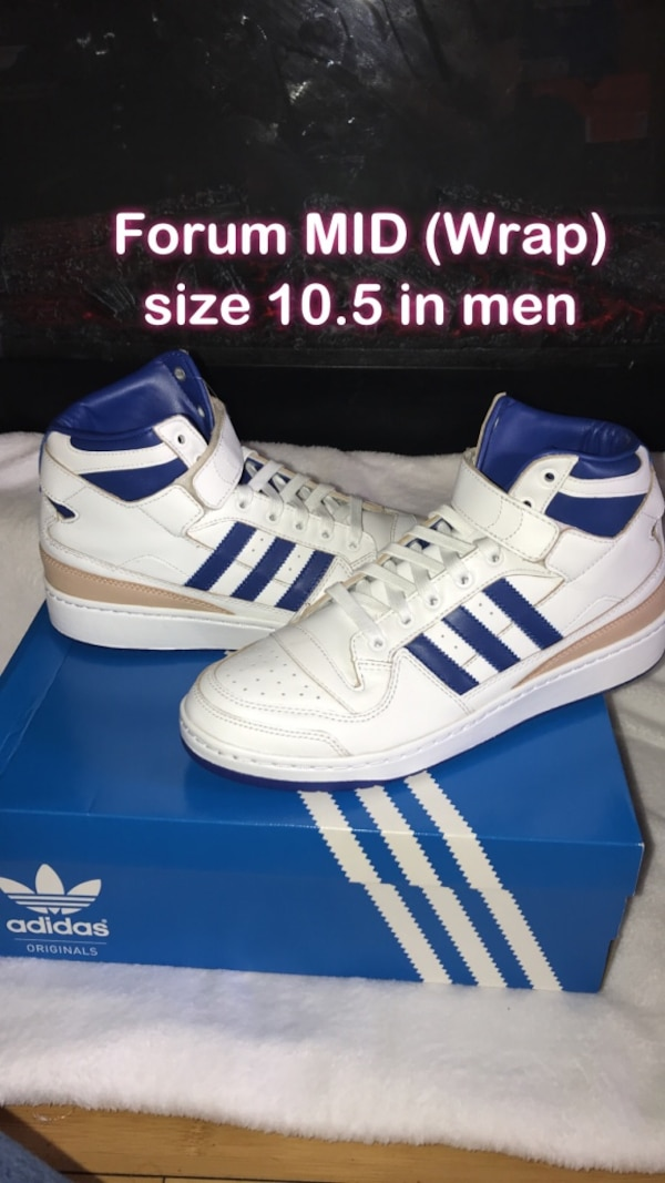 fec4b0c87 Used White-and-blue adidas superstar for sale in Norwalk - letgo
