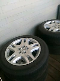 Four 16inch Mercedes Benz E350 rims and tires Camp Springs, 20746