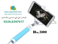 Imported Monopod Foldable Selfie Stick - Gifts Shop From UAE – ( 3 Different Colors ) ISLAMABAD