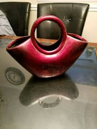 red and brown ceramic pitcher Germantown, 20874
