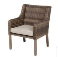SET OF 4 OUTDOOR WICKER CHAIRS Dallas