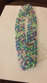 multi-color beaded headband hand made Lawrence, 01841