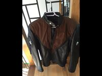Leather jacket women size Small May fit Medium.     Laval, H7E