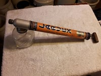 orange and gray Larvex handheld pump spray Rivers, R0K 1X0