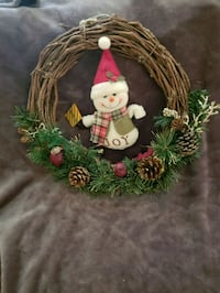 Christmas door wreath  Central, 70739