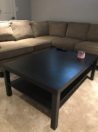 Black Coffee Table LIKE NEW New Westminster, V3L 2N1