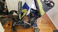 baby's gray and green tandem stroller Olney, 20832