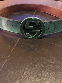 GUCCI Interlocking Verdant G Belt! Houston, 77047