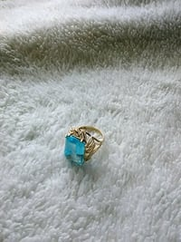 silver and blue gemstone ring Roanoke, 24016
