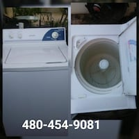 Ge washer $200 free delivery 30day warranty Glendale, 85301