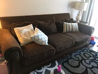 Brown sofa and chair Henderson, 89012