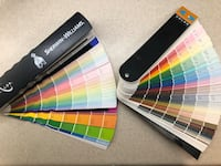 Sherwin Williams and Benjamin Moore paint color swatches Orlando, 32820
