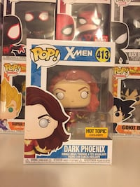Dark Phoenix Hot Topic Exclusive Funko Pop