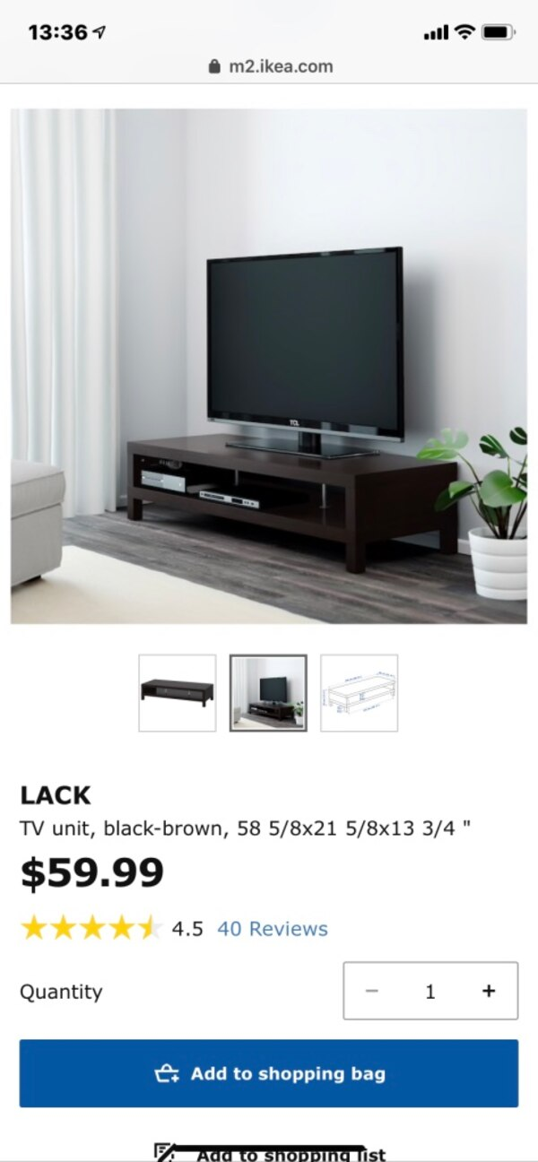Awesome Ikea Tv Stand Black Brown Ocoug Best Dining Table And Chair Ideas Images Ocougorg