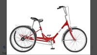 Sun cruiser trikes one red and one black Yulee, 32097