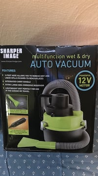 Multifunction auto wet and dry vacuum with 12 V motor