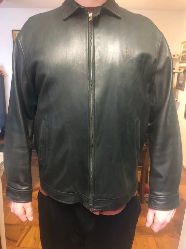 Ralph Lauren Leather jacket L f39173fb-a3f7-43db-b4cb-479b71cd184f