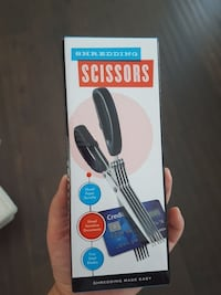 gray and black shredding scissors box Edmonton, T6H 5W8