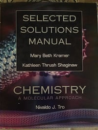 Solutions Manual Chemistry