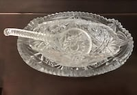 Intricately cut candy jar/nut bowl with spoon Greensboro, 27455