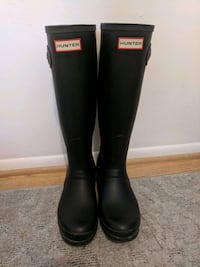 Tall black history hunter boots - size 7 Boulder, 80303