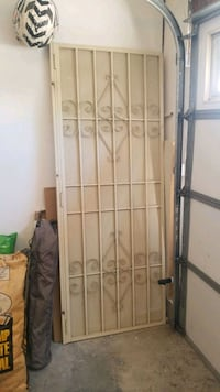 Metal security door 80 x 30