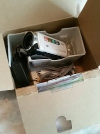 white and black corded electronic device with box Toronto, M3L 1M3