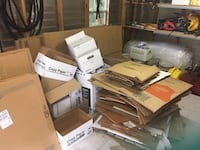 Moving boxes. Enough for 4,000+ sq ft home. Also wardrobe boxes $8 ea Wesley Chapel, 33544