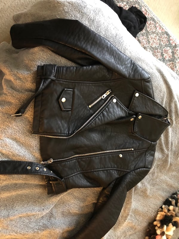 Urban Outfitters; Leather Jacket 6647ceb0-1c00-49f0-8bfe-7641d753d9f1