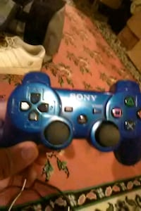 blue Sony PS3 game controller Bristow, 20136
