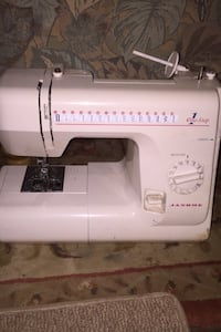 One step Janome 659 sewing machine