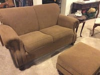 brown fabric 3-seat sofa Haymarket, 20169