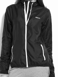 Reebok full sleeve solid women's wind cheater jacket black Calgary, T3N