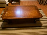 SOLID WOOD coffee table and side table Laval, H7E 3S5