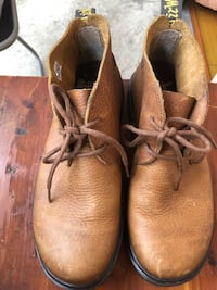 Dr.Martens Work Mens Shoes Brick Color Size 8 Excellent condition Лос-Анджелес, 90033