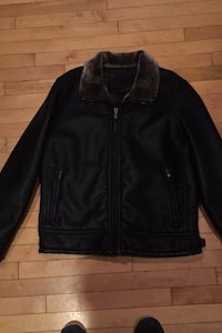 Mans leather jacket size large  Edmonton, T5X 6J8