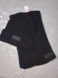 Victoria secret black scarf and hat set new with tags from PINK Toronto, M3N
