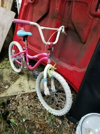 toddler's pink and white bicycle Manassas, 20110