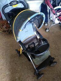baby's yellow and gray Jeep umbrella stroller Kissimmee, 34743